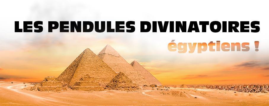 les pendules divinatoire égyptiens