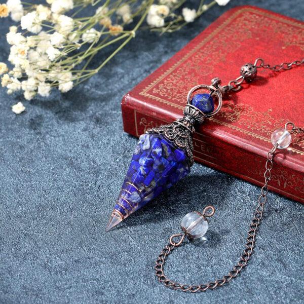 pendule thot lapis lazuli
